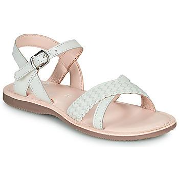 Čevlji  Deklice Sandali & Odprti čevlji Little Mary LIANE Bela