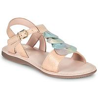 Čevlji  Deklice Sandali & Odprti čevlji Little Mary MARIETTE Pozlačena