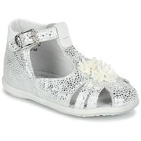 Čevlji  Deklice Sandali & Odprti čevlji Little Mary GLADYS Srebrna