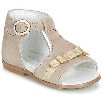 Čevlji  Deklice Sandali & Odprti čevlji Little Mary GAELLE Bež