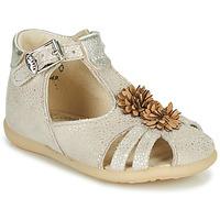 Čevlji  Deklice Sandali & Odprti čevlji Little Mary GLADYS Bež