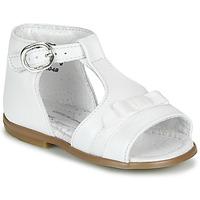 Čevlji  Deklice Sandali & Odprti čevlji Little Mary GAELLE Bela