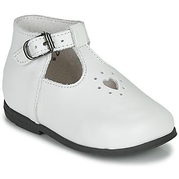 Čevlji  Deklice Sandali & Odprti čevlji Little Mary NANNY SP Bela