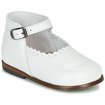 Čevlji  Deklice Sandali & Odprti čevlji Little Mary VOCALISE Bela
