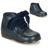 Čevlji  Deklice Polškornji Little Mary FAVORITE VACHETTE MARINE