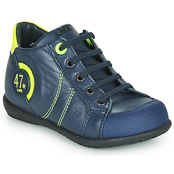 Čevlji  Dečki Polškornji Little Mary FELIX Modra