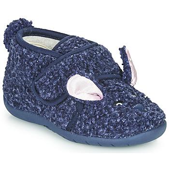 Čevlji  Otroci Nogavice Little Mary LAPINVELCRO Modra