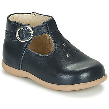 Čevlji  Otroci Sandali & Odprti čevlji Little Mary LOUP VACHETTE MARINE