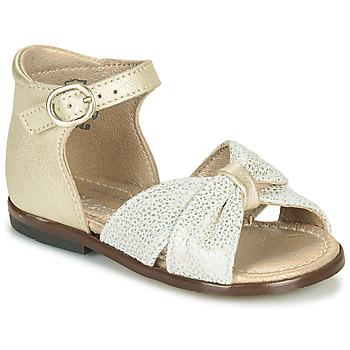 Čevlji  Deklice Sandali & Odprti čevlji Little Mary DIANA Pozlačena