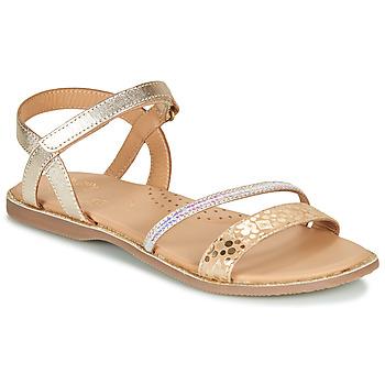 Čevlji  Deklice Sandali & Odprti čevlji Little Mary DOLERON Pozlačena