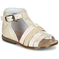 Čevlji  Deklice Sandali & Odprti čevlji Little Mary HOSMOSE Pozlačena