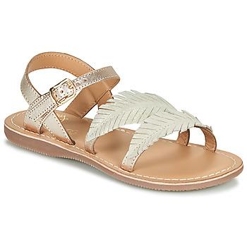 Čevlji  Deklice Sandali & Odprti čevlji Little Mary LORETTE Pozlačena