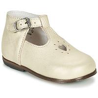 Čevlji  Deklice Sandali & Odprti čevlji Little Mary NANNY SP Pozlačena