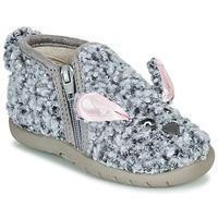 Čevlji  Otroci Nogavice Little Mary LAPINZIP Siva