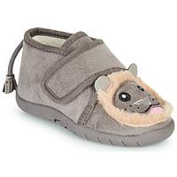 Čevlji  Otroci Nogavice Little Mary LIONVELCRO Siva