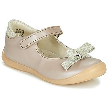 Čevlji  Deklice Balerinke Little Mary LUDMILA Taupe
