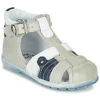 Čevlji  Dečki Sandali & Odprti čevlji Little Mary VERCORS Siva