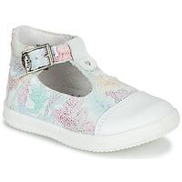 Čevlji  Deklice Sandali & Odprti čevlji Little Mary VALSEUSE Bela / Večbarvna