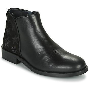 Čevlji  Deklice Polškornji Little Mary CAMERON Črna