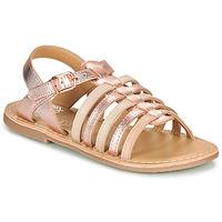 Čevlji  Deklice Sandali & Odprti čevlji Little Mary BARBADE Rožnata