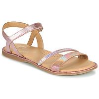 Čevlji  Deklice Sandali & Odprti čevlji Little Mary DOLERON Rožnata