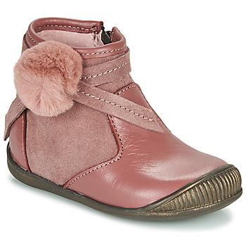 Čevlji  Deklice Polškornji Little Mary FRANCOISE Rožnata
