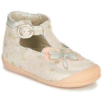 Čevlji  Deklice Sandali & Odprti čevlji Little Mary GLYCINE Nude
