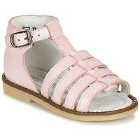 Čevlji  Deklice Sandali & Odprti čevlji Little Mary HOLIDAY Rožnata