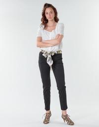 Oblačila Ženske Hlače s 5 žepi Betty London  Črna