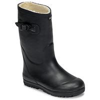 Čevlji  Otroci škornji za dež  Aigle WOODY POP FUR Modra