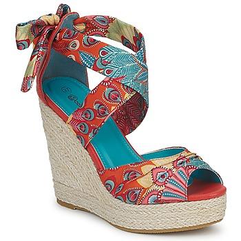 Čevlji  Ženske Sandali & Odprti čevlji Moony Mood EFIRNIL Večbarvna