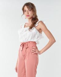 Oblačila Ženske Topi & Bluze Betty London OOPSA Bela