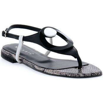 Čevlji  Ženske Sandali & Odprti čevlji Priv Lab MOSAIC NERO ALLURE Nero