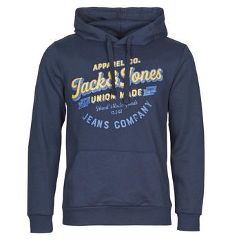 Oblačila Moški Puloverji Jack & Jones JJEJEANS Modra