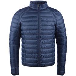 Oblačila Moški Puhovke JOTT Mat ml  basique Modra