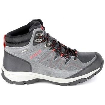 Čevlji  Pohodništvo Aigle Vedur Mid MTD Gris Rouge Siva