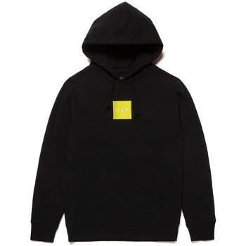 Oblačila Moški Puloverji Huf Sweat hood box logo Črna