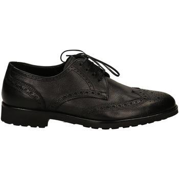 Čevlji  Moški Čevlji Derby Edward's TROPEA nero