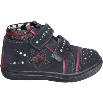 Čevlji  Deklice Visoke superge Didiblu Superge BK203 Siva