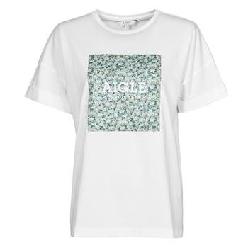 Oblačila Ženske Majice s kratkimi rokavi Aigle RAOPTELIB Bela
