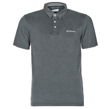 Oblačila Moški Polo majice kratki rokavi Columbia NELSON POINT POLO Siva
