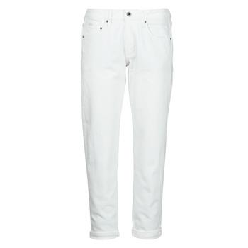 Oblačila Ženske Jeans boyfriend G-Star Raw KATE BOYFRIEND WMN Bela