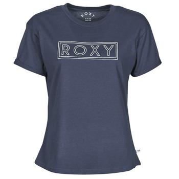 Oblačila Ženske Majice s kratkimi rokavi Roxy EPIC AFTERNOON WORD Modra