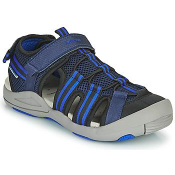 Čevlji  Otroci Sandali & Odprti čevlji Geox JR SANDALE KYLE Modra