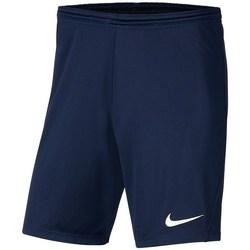 Oblačila Dečki Kratke hlače & Bermuda Nike JR Park Iii Knit Mornarsko modra