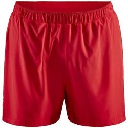 Oblačila Moški Kratke hlače & Bermuda Craft Adv Essence 5 Stretch Rdeča