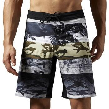 Oblačila Moški Kratke hlače & Bermuda Reebok Sport One Series Sublimated Bela, Siva, Grafitna