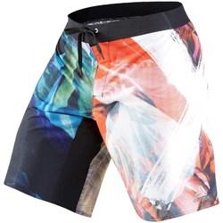Oblačila Moški Kratke hlače & Bermuda Reebok Sport Acid Sublimated Črna,Rdeča,Modra