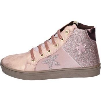 Čevlji  Deklice Modne superge Asso Superge BK216 Roza
