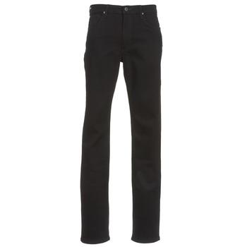 Oblačila Moški Jeans straight Lee BROOKLYN STRAIGHT Črna